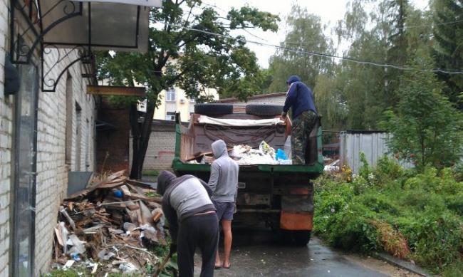 Работа вывоз мусора вахта москва